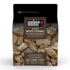 Udící špalíky Weber HICKORY bílý ořech
